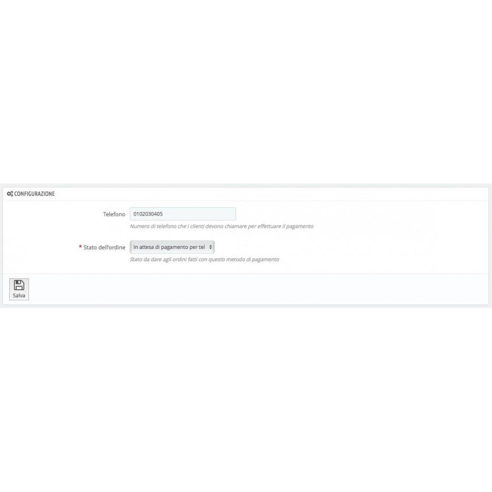 module - Altri Metodi di Pagamento - Paga da Telefono - 3