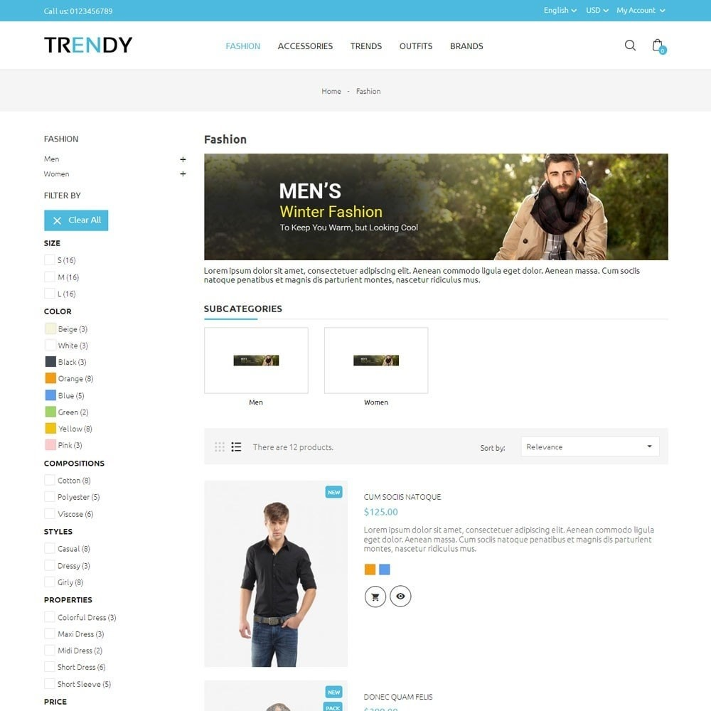 theme - Мода и обувь - Trendy Fashion Store - 4
