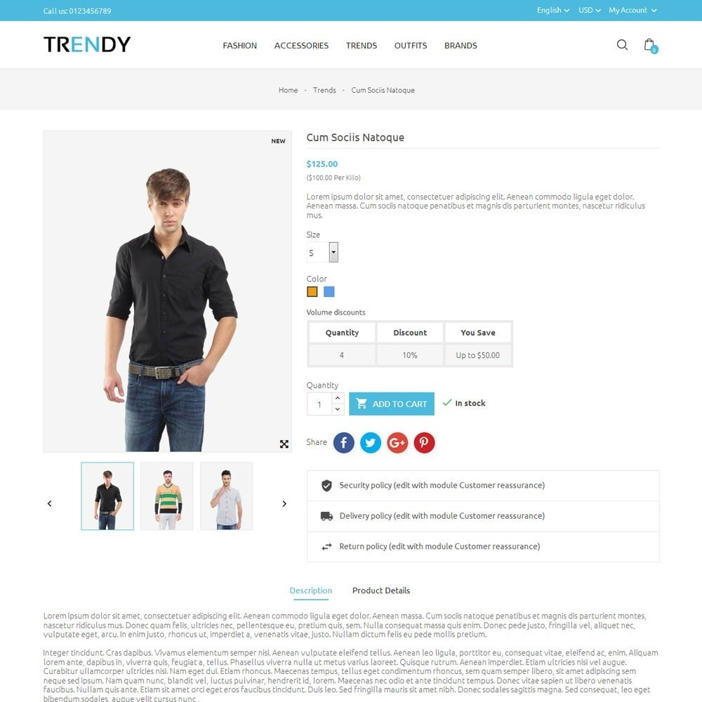 theme - Мода и обувь - Trendy Fashion Store - 5