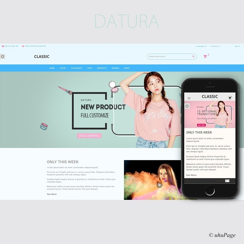 Datura Cosmetic store