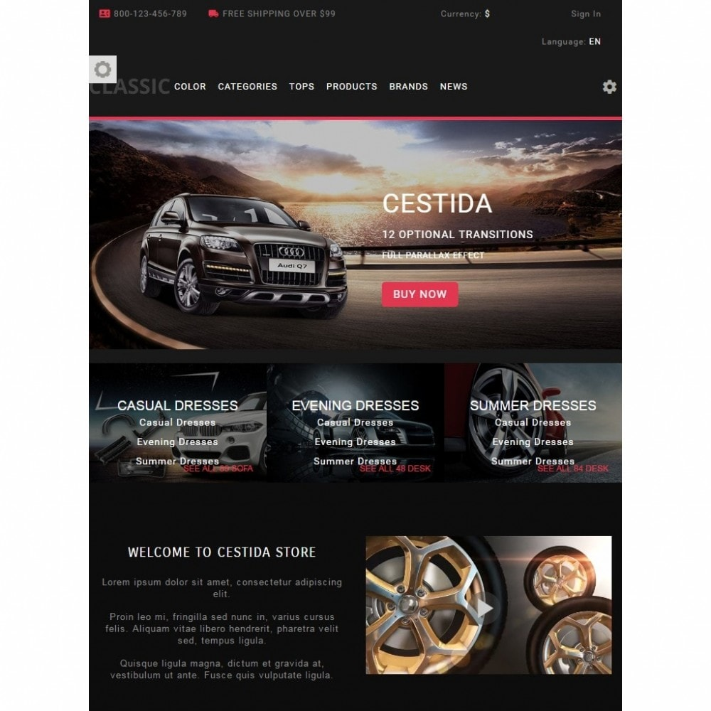 theme - Automotive & Cars - Cestida Cars Store - 7