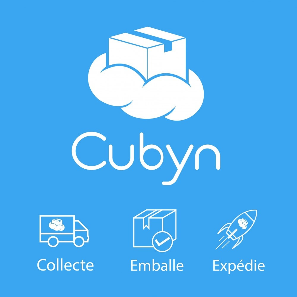 module - запасов и поставщиков - Cubyn - Collects, packs and ships your products - 1