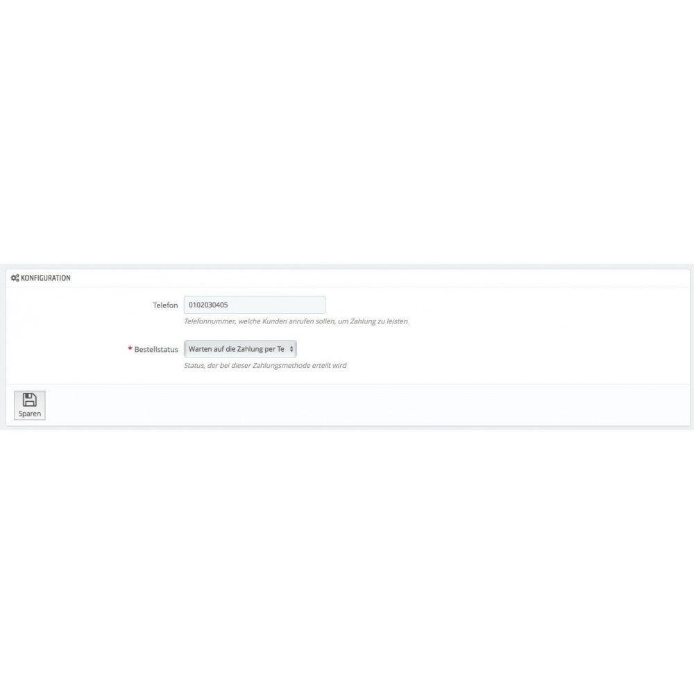 module - Andere Zahlungsmethoden - Bezahlung per Telefon - 2