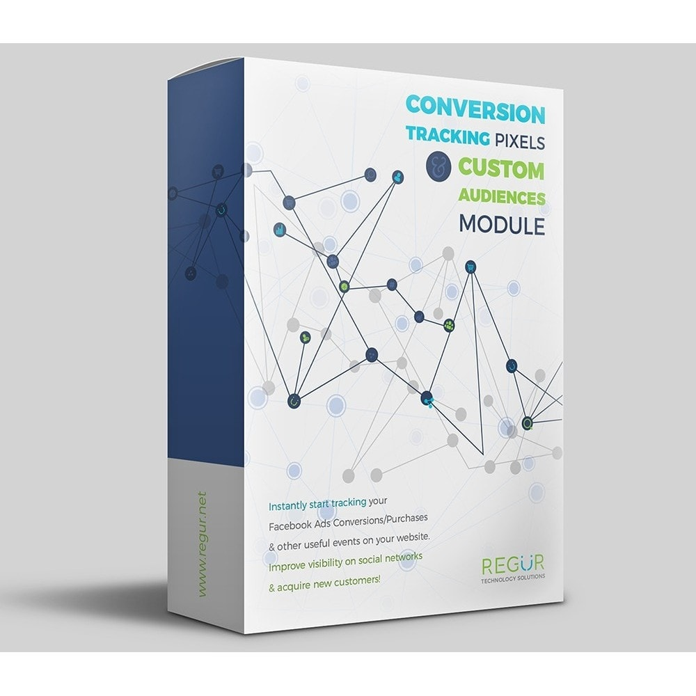 module - Analytics & Statistics - Conversion Tracking Pixels and Custom Audiences - 1