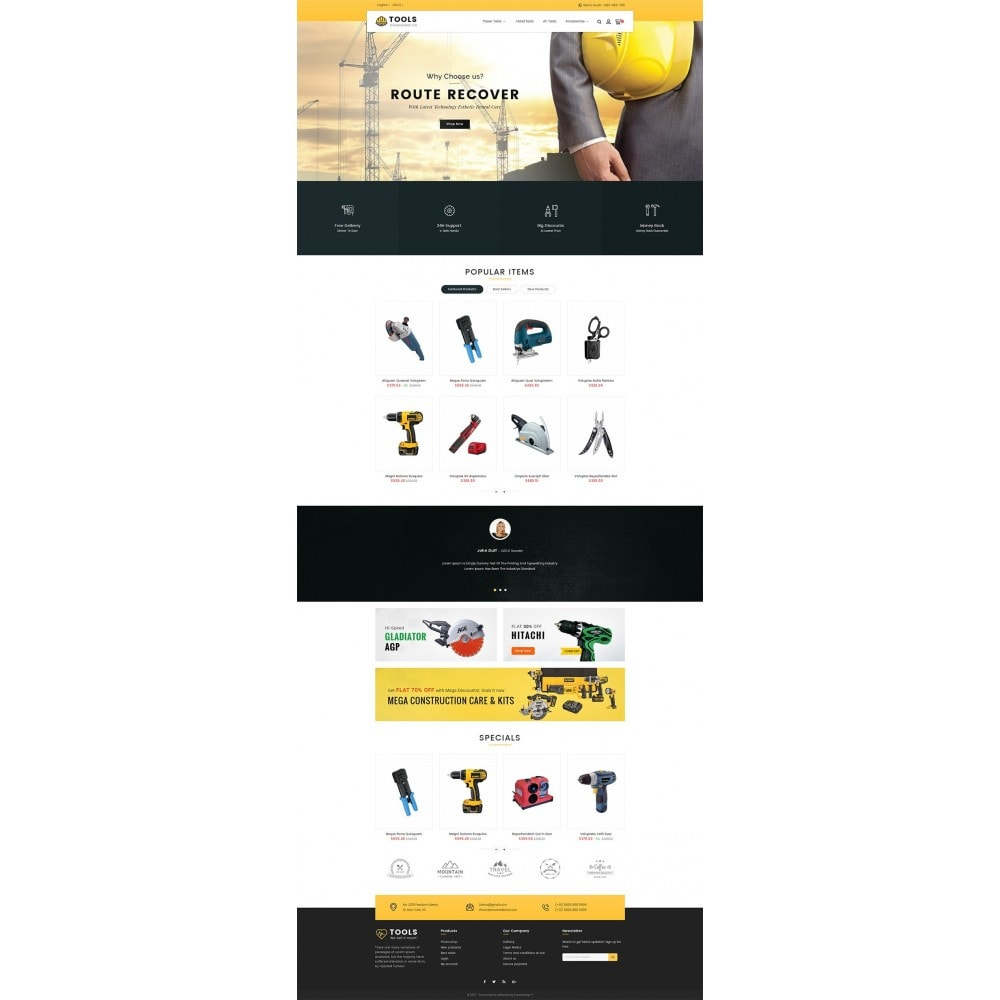 theme - Дом и сад - Construction Tools Store - 2
