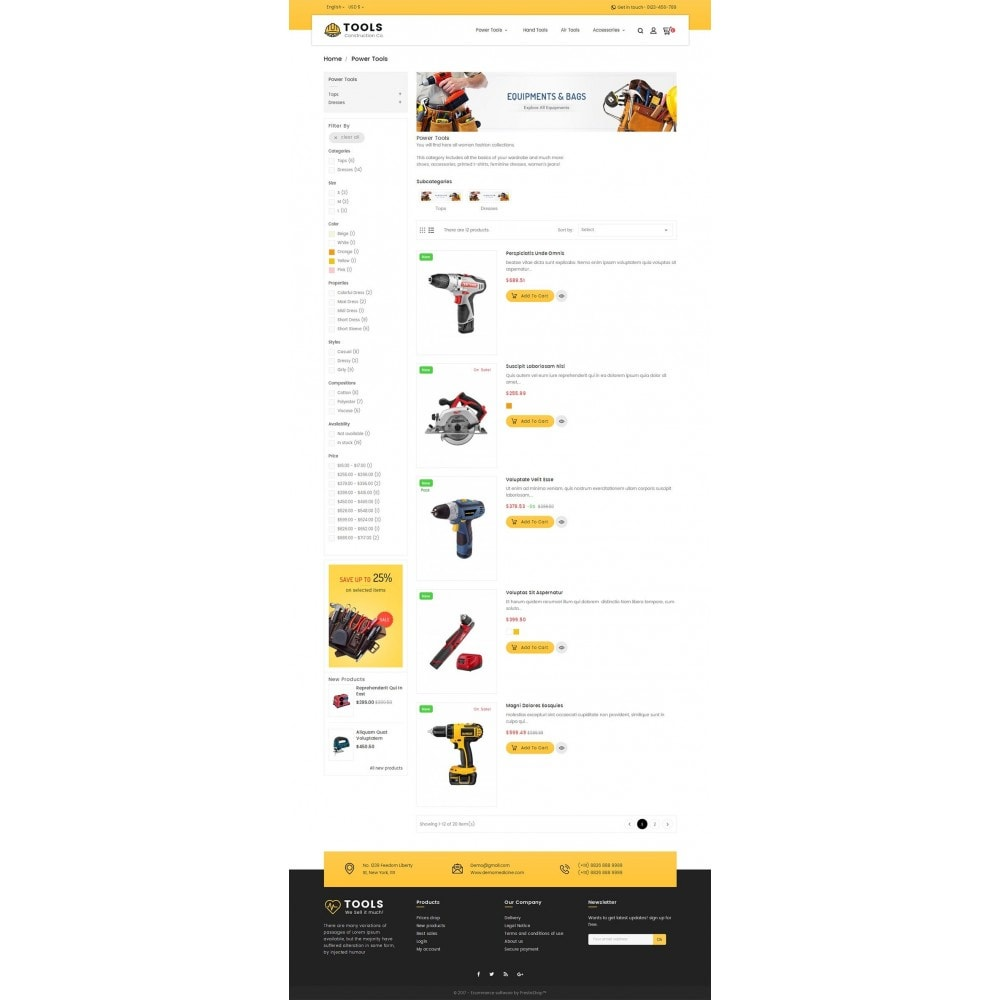 theme - Casa & Jardins - Construction Tools Store - 4