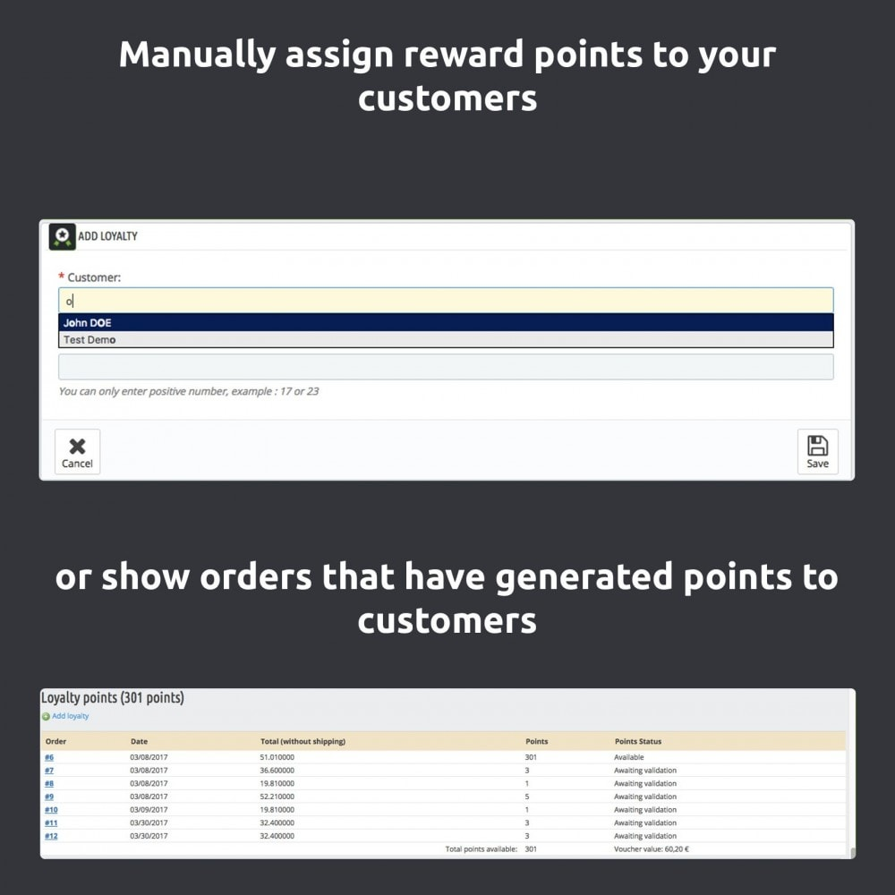 module - Loyaliteitsprogramma - Advanced Loyalty Program: Loyalty Points - 7
