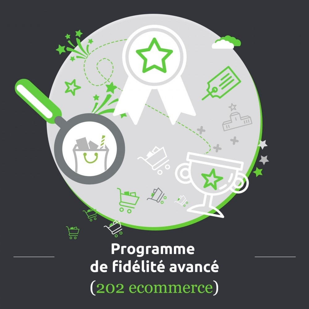 module - Fidélisation & Parrainage - Programme de fidélité avancé - 1.5, 1.6 & 1.7 - 1