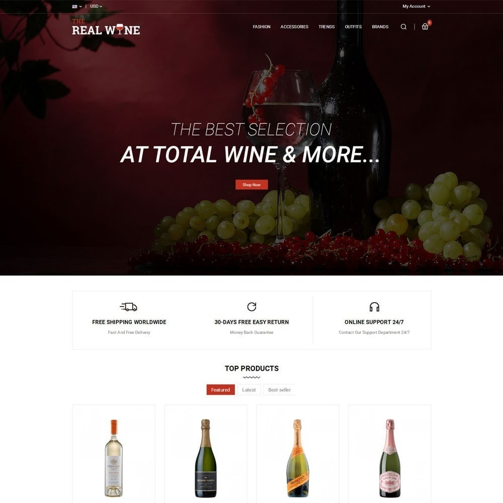 theme - Drank & Tabak - The Real Wine Store - 2