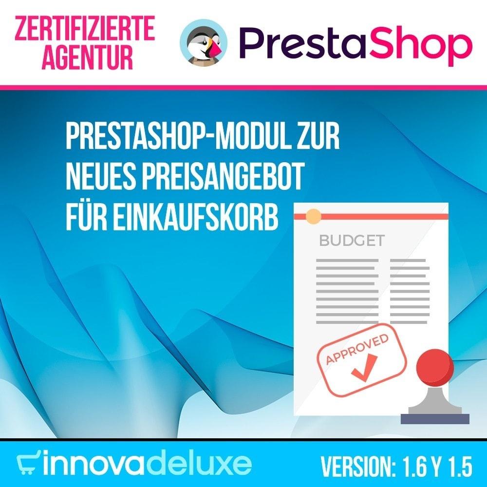 module - Angebotsmanagement - Neues Preisangebot für Einkaufskorb - 1
