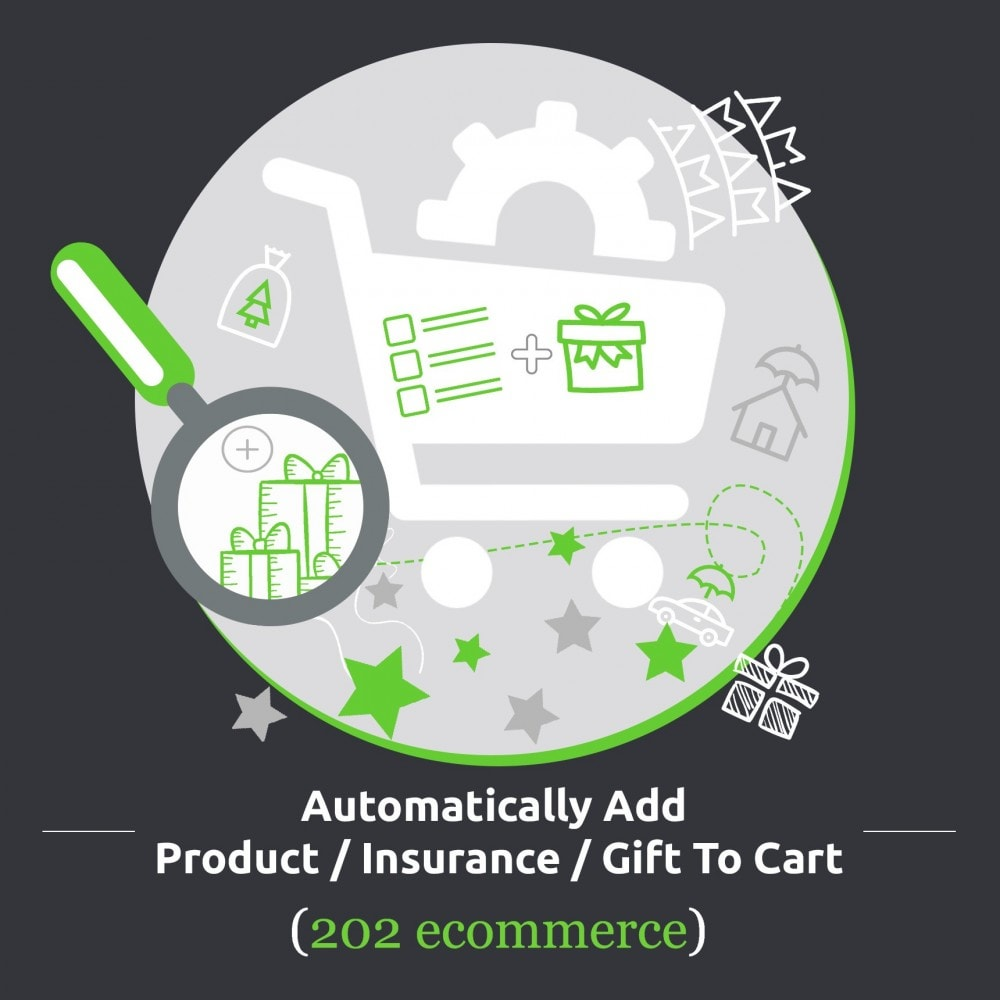 module - Procedury składania zamówień - Automatically Add Product / Insurance / Gift To Cart - 1