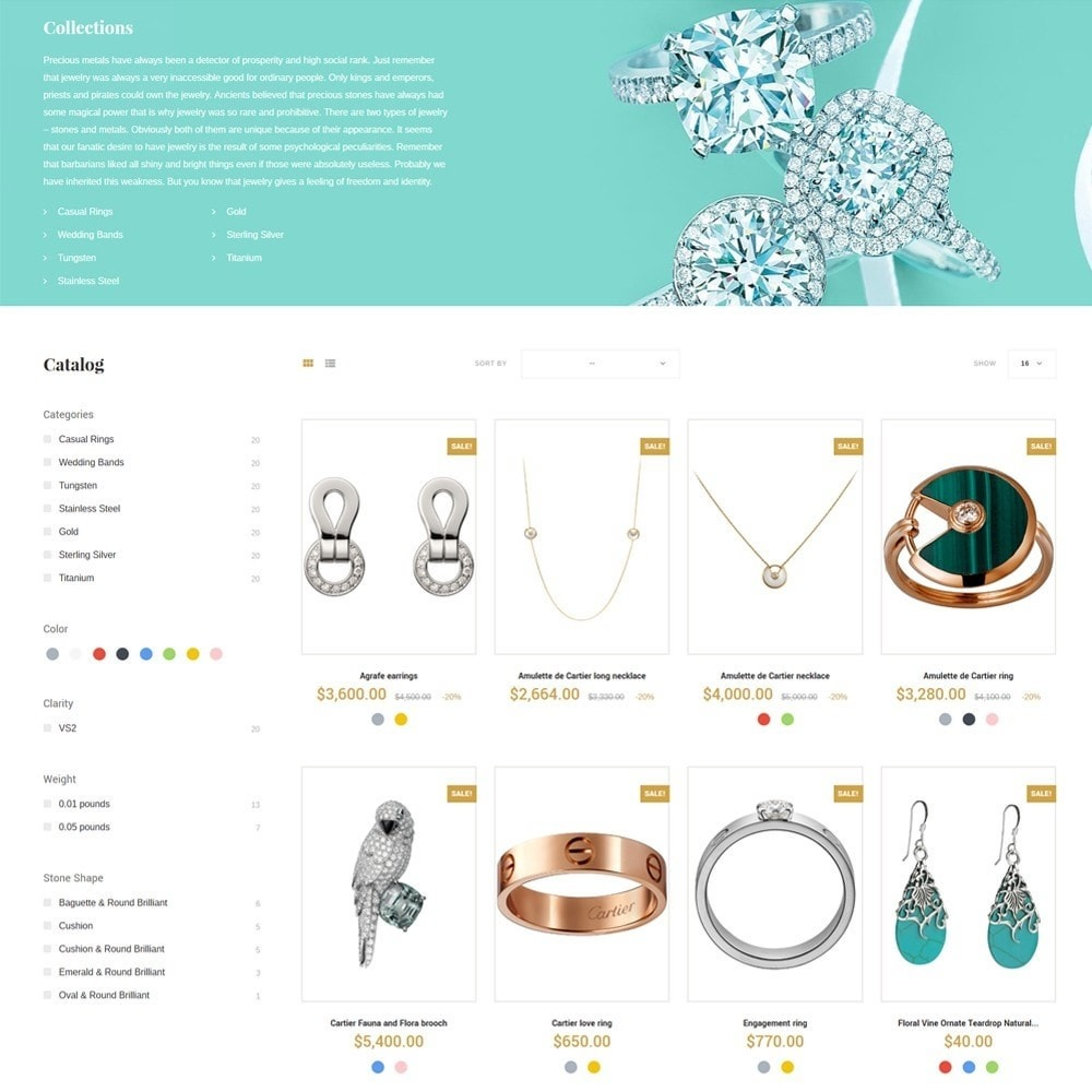 theme - Jewelry & Accessories - Eveprest - Jewelry Online Store - 5