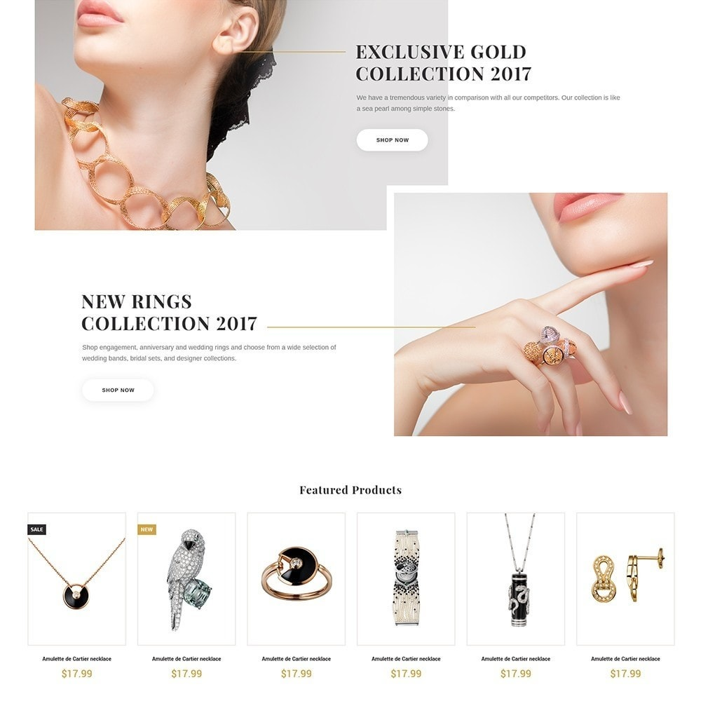 theme - Jewelry & Accessories - EvePrest Jewelry - Jewelry Online Store - 4