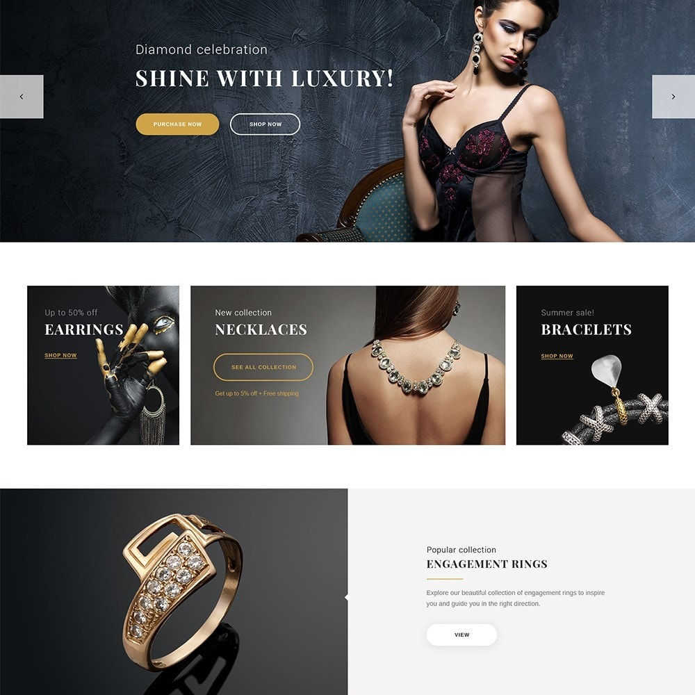 theme - Jewelry & Accessories - EvePrest Jewelry - Jewelry Online Store - 2