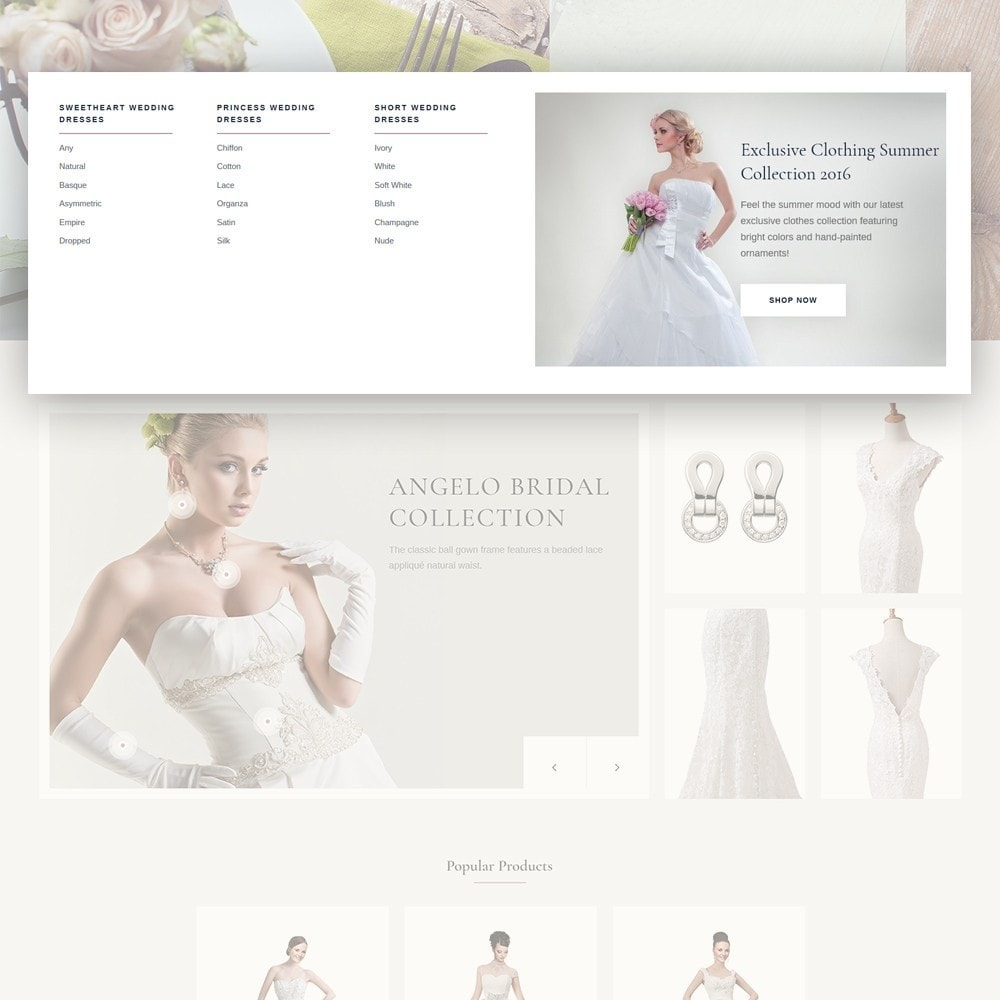 theme - Regali, Fiori & Feste - EvePrest Wedding - Wedding Online Store - 9