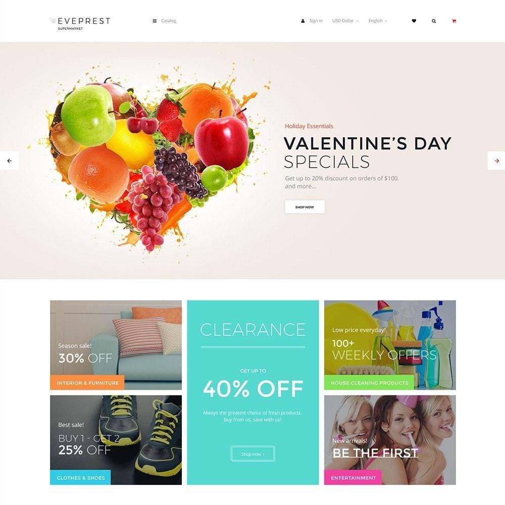 EvePrest Supermarket - Supermarket Online Store