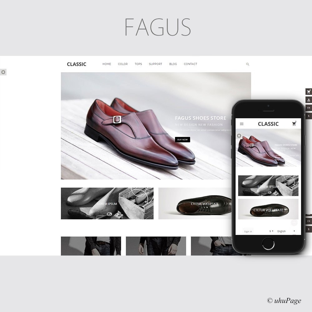 theme - Mode & Chaussures - UP Fagus Shoes Store - 1