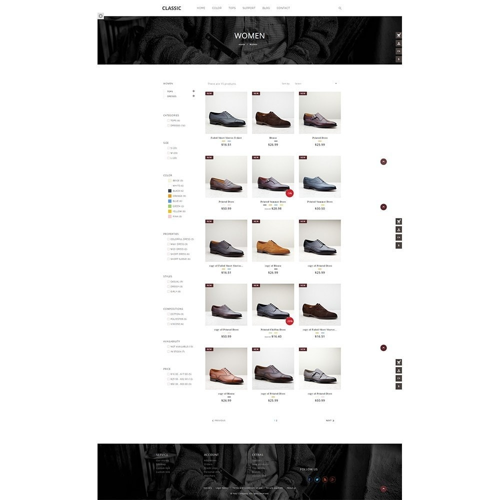 theme - Mode & Chaussures - UP Fagus Shoes Store - 4