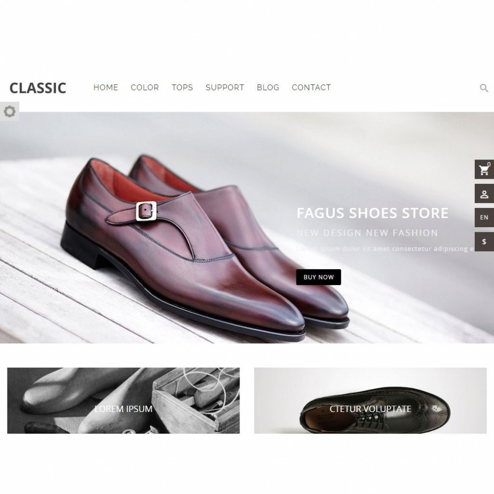 theme - Fashion & Shoes - Fagus Shoes Store - 7
