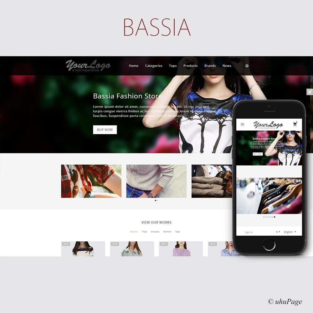 theme - Fashion & Shoes - Bassia Fashion Store - 1