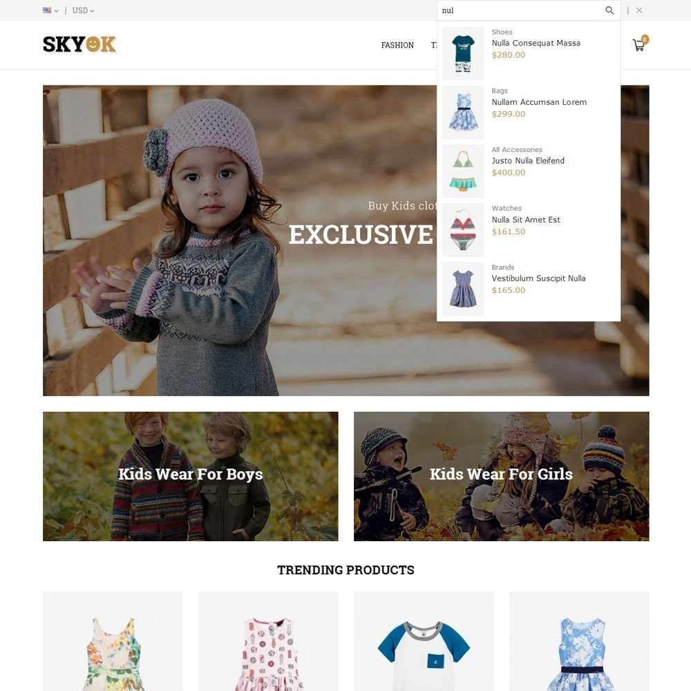 theme - Kids & Toys - Skyok Kids Store - 6