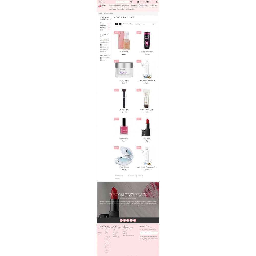 theme - Health & Beauty - Cosmetic Store - 7