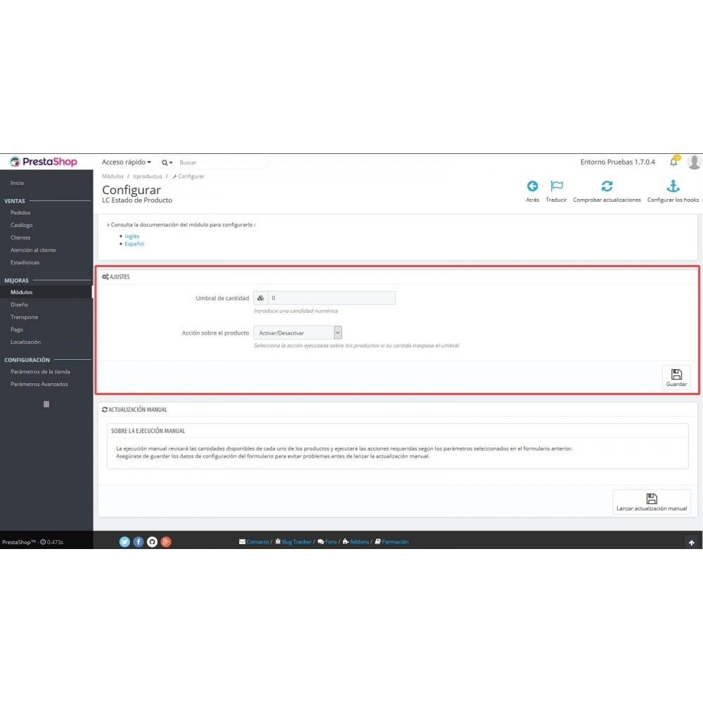 module - Quick Eingabe & Massendatenverwaltung - LC Product Status - 6