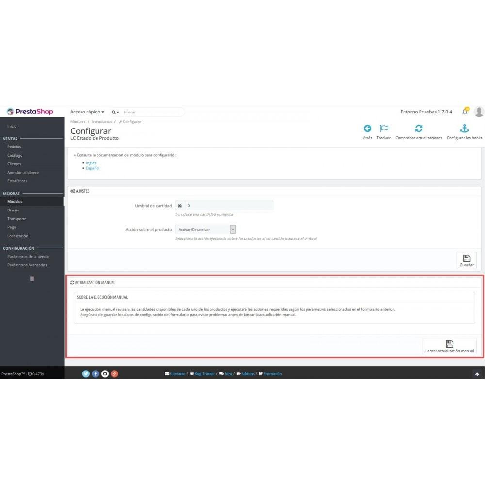 module - Szybkie & Masowe edytowanie - LC Product Status - 7