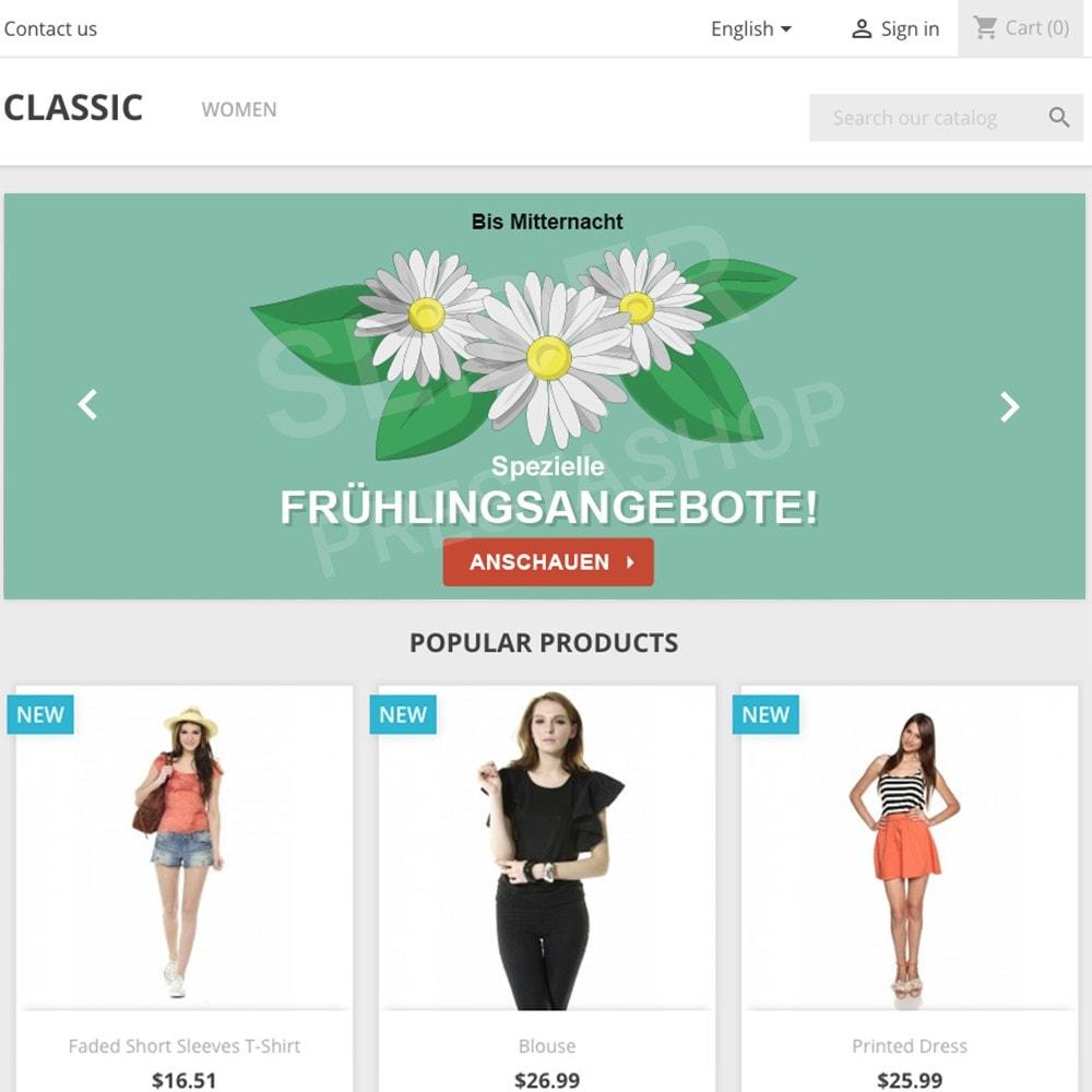 other - Bildmaterial für Online-Aktionen - 5 Werbegrafiken - Frühling - 1.7 - 2