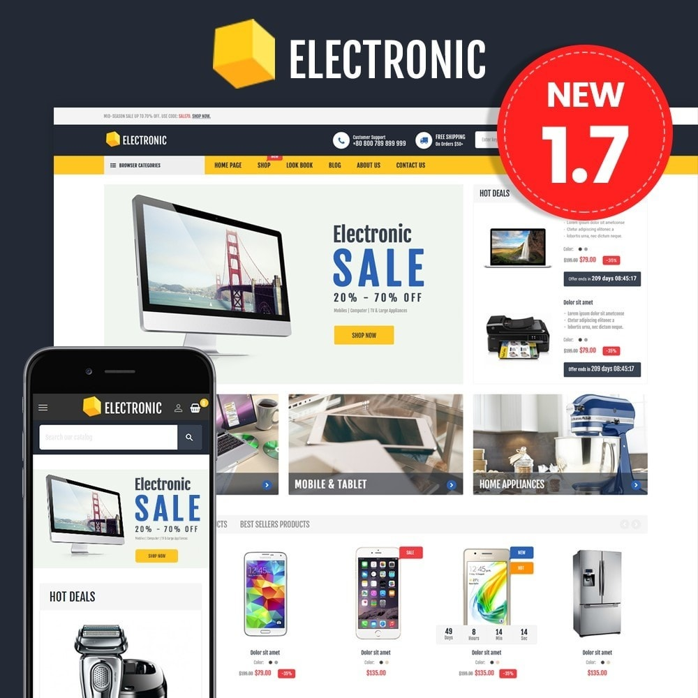 theme - Elettronica & High Tech - Electronics Store - 1