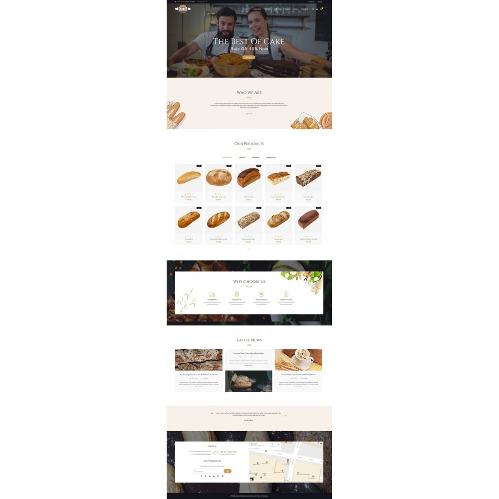 theme - Lebensmittel & Restaurants - JMS Bread - 8