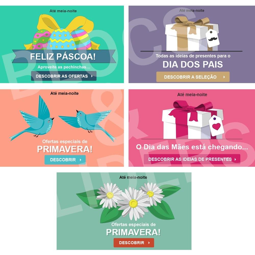 other - Imagens - Promoções on-line - 5 Designs Promocionais - Primavera - 1.7 - 1