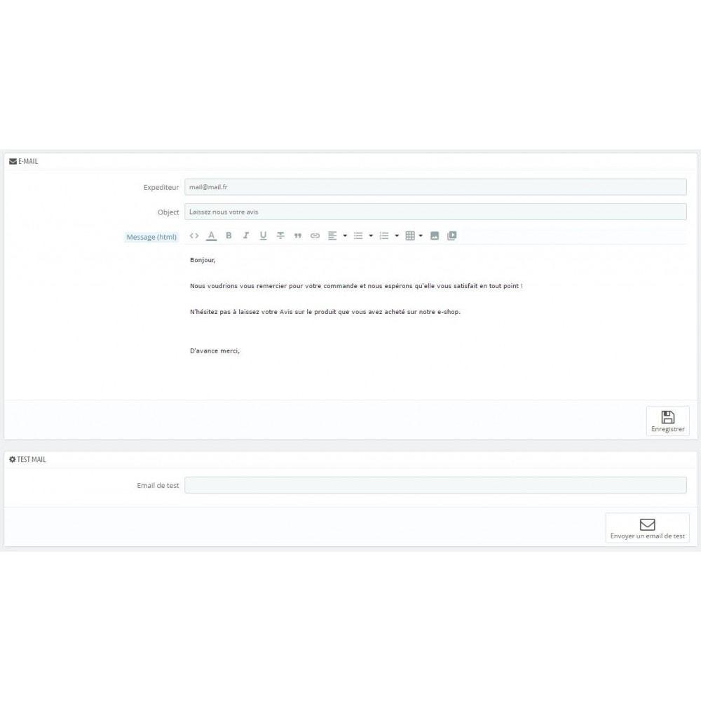 module - E-mails & Notifications - Envoie d'email automatique - 2