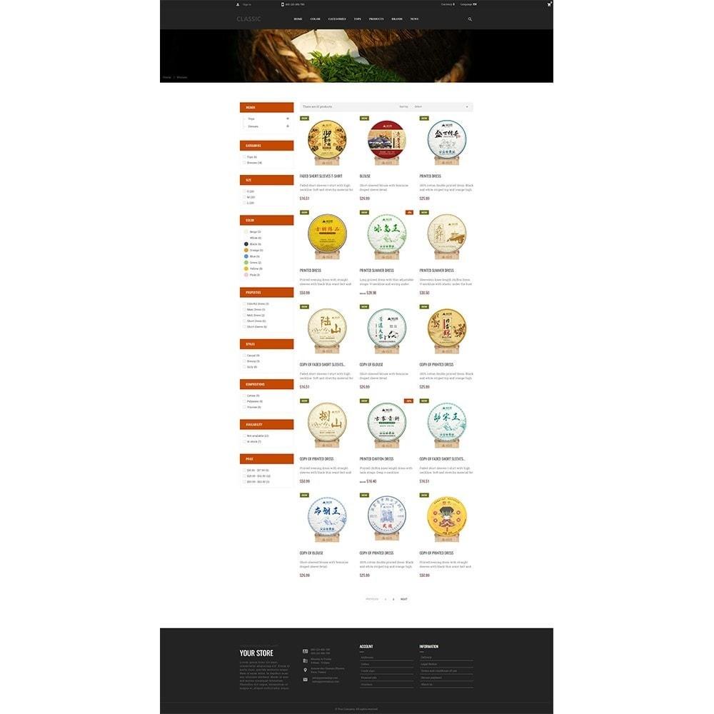 theme - Napoje & Wyroby tytoniowe - Camellia Tea Store - 4