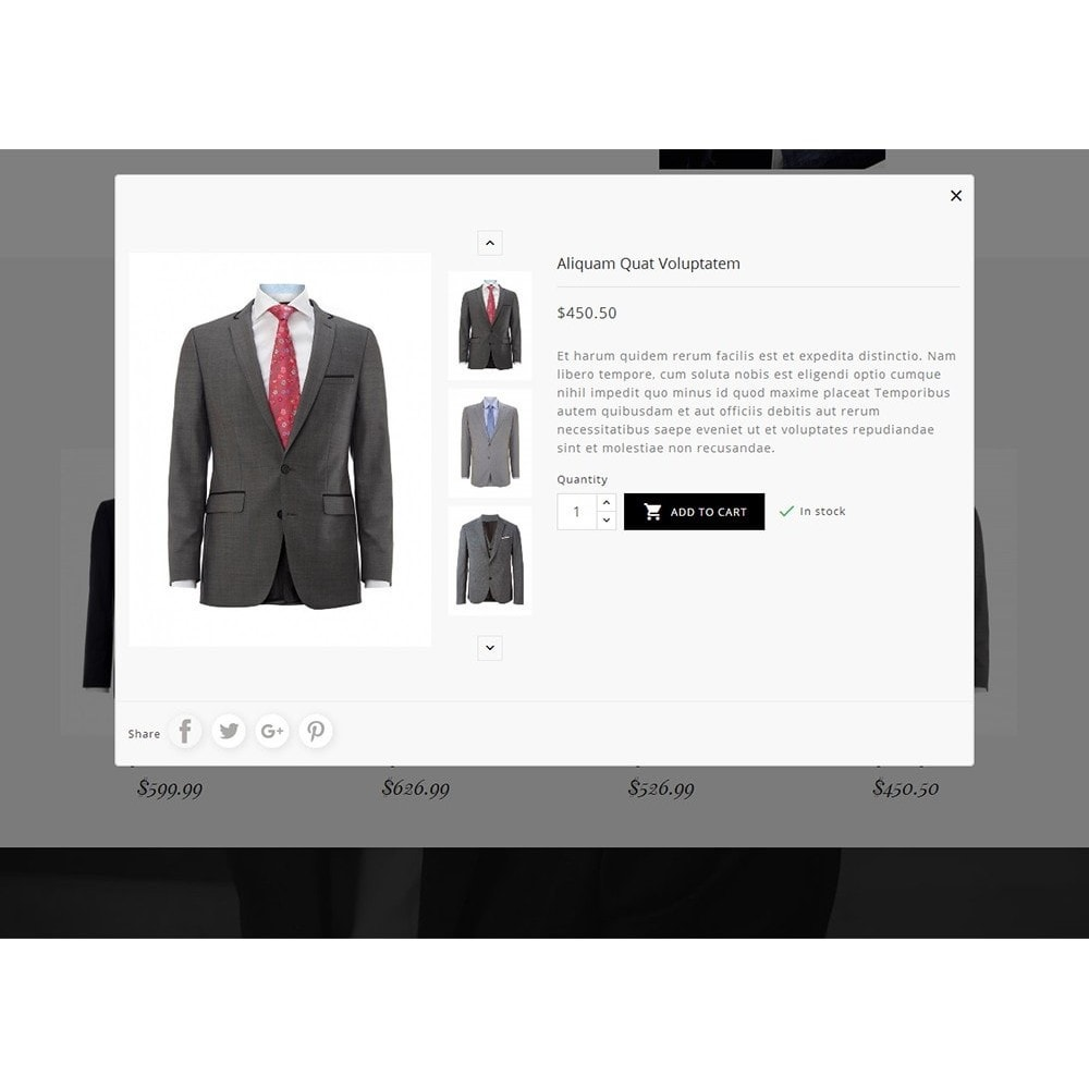 theme - Mode & Schoenen - Suit/Tailor Store - 8