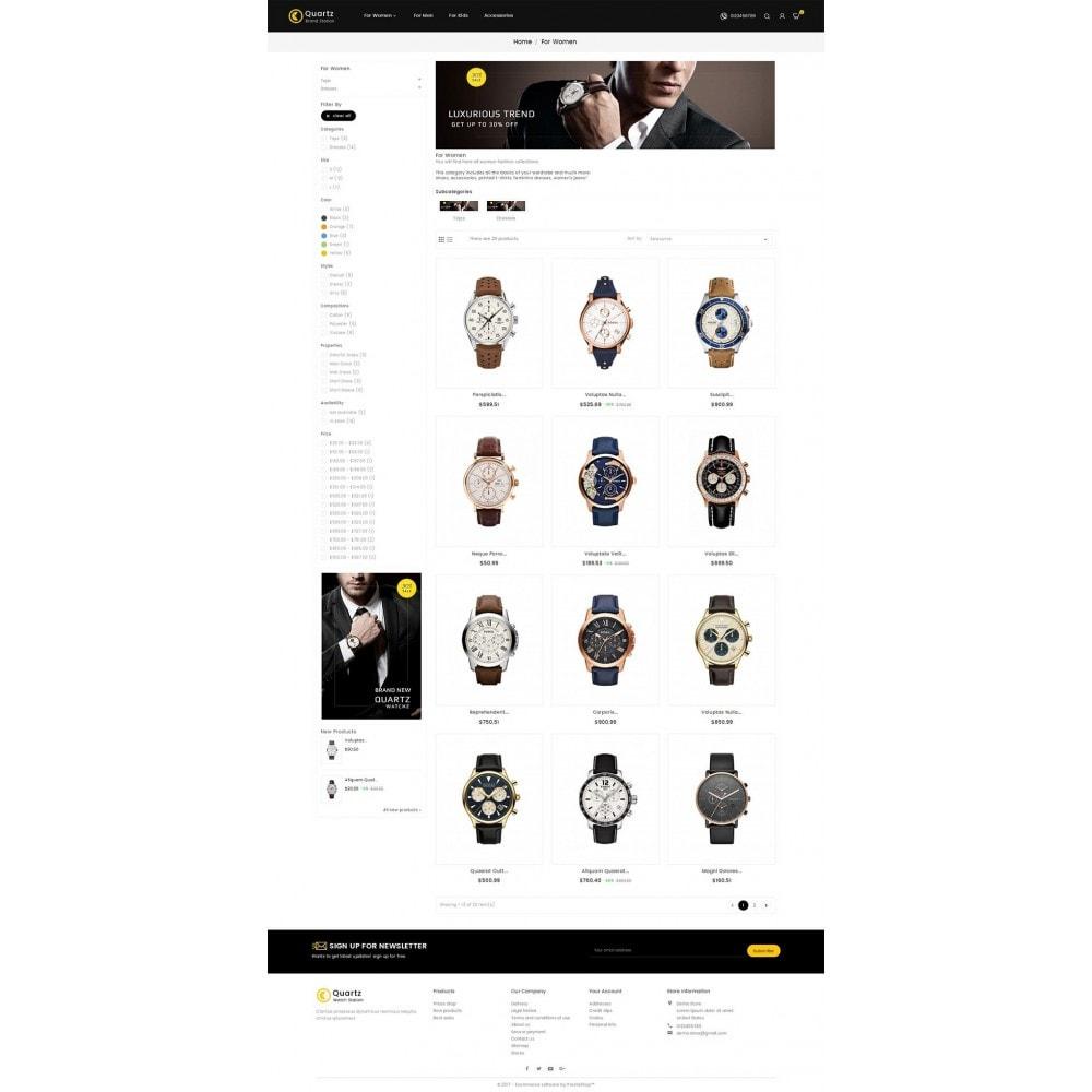 theme - Jewelry & Accessories - Quartz Watch Store - 3