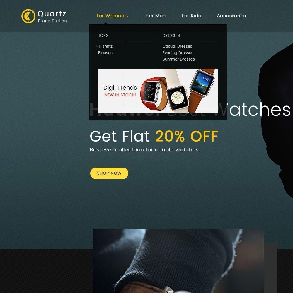 theme - Jewelry & Accessories - Quartz Watch Store - 9
