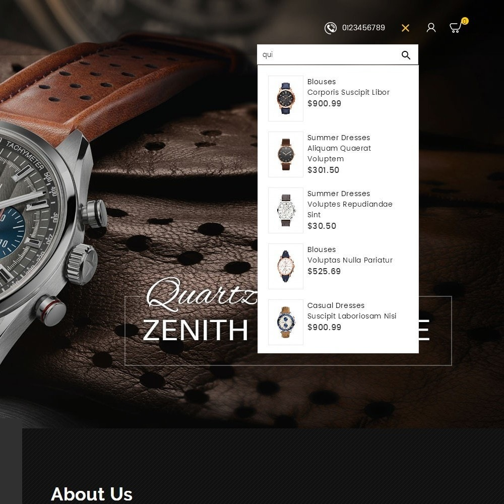 theme - Schmuck & Accesoires - Quartz Watch Store - 10