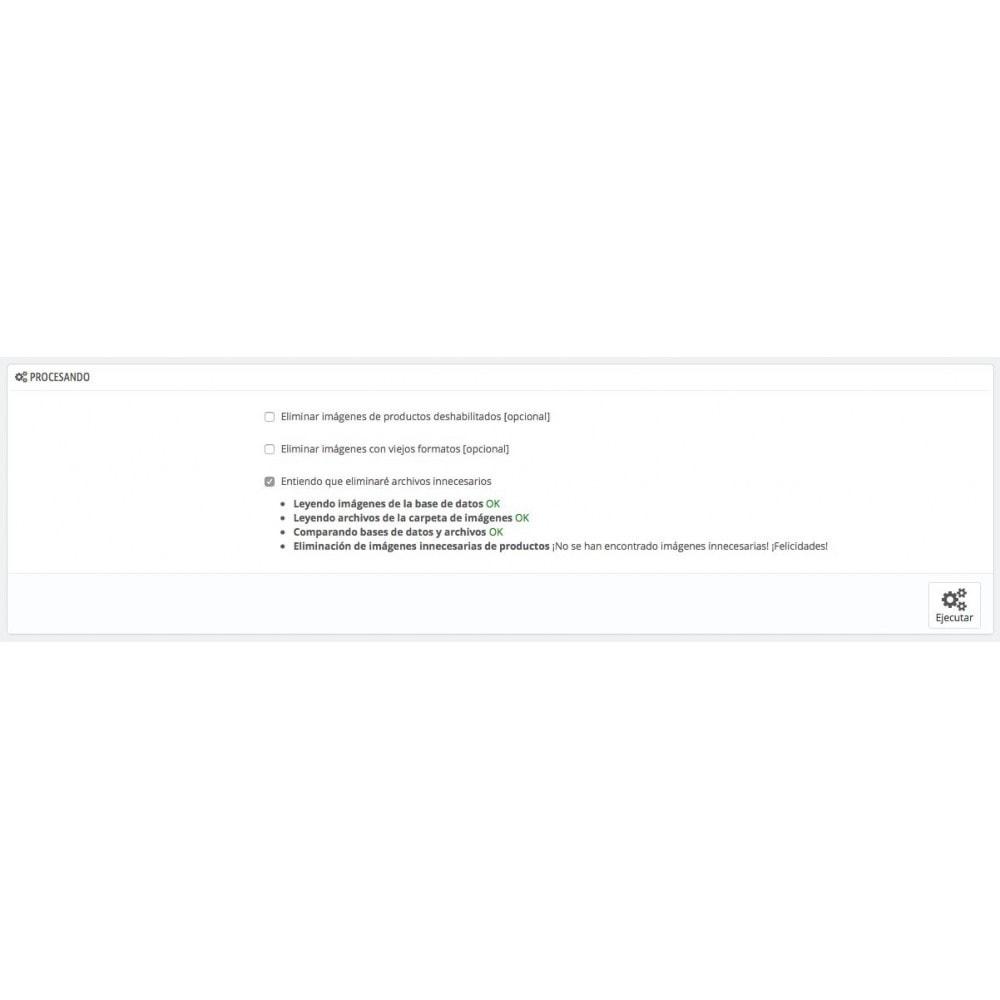 module - Rendimiento del sitio web - Eliminar Imágenes innecesarias de productos - 1