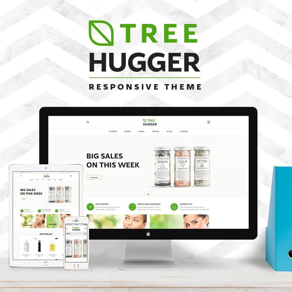 theme - Health & Beauty - Tree Hugger Cosmetics - 1