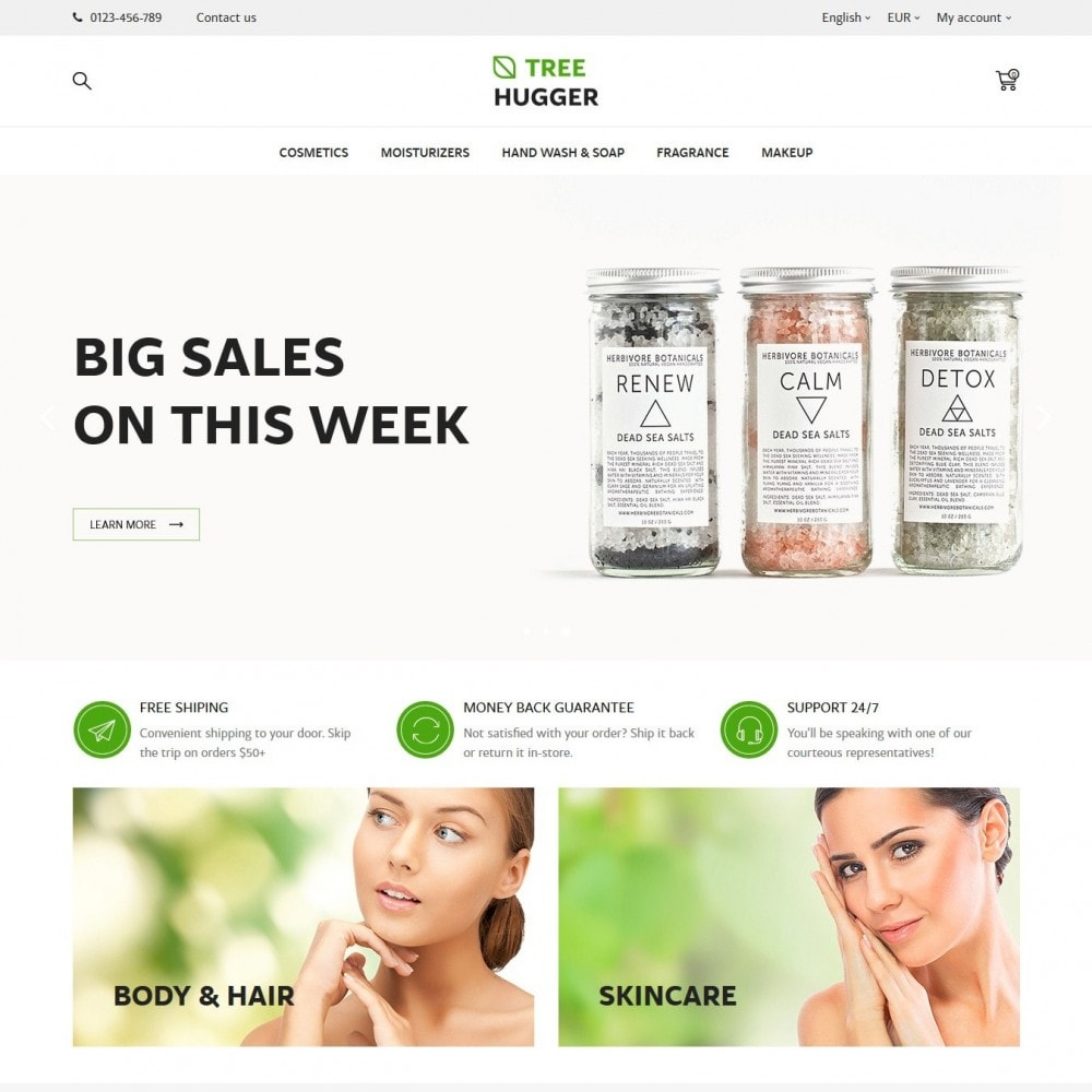 theme - Health & Beauty - Tree Hugger Cosmetics - 2