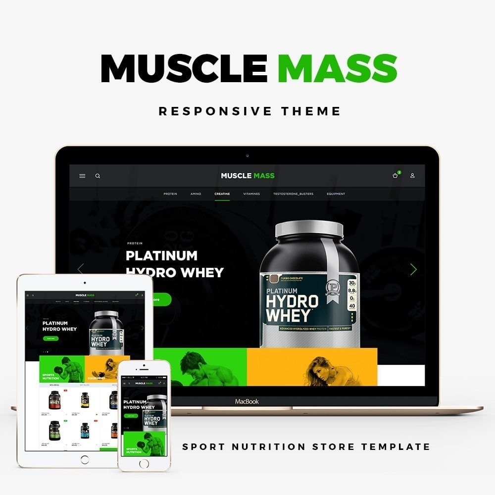 theme - Deportes, Actividades y Viajes - Muscle Mass - Sport & Fitness - 1