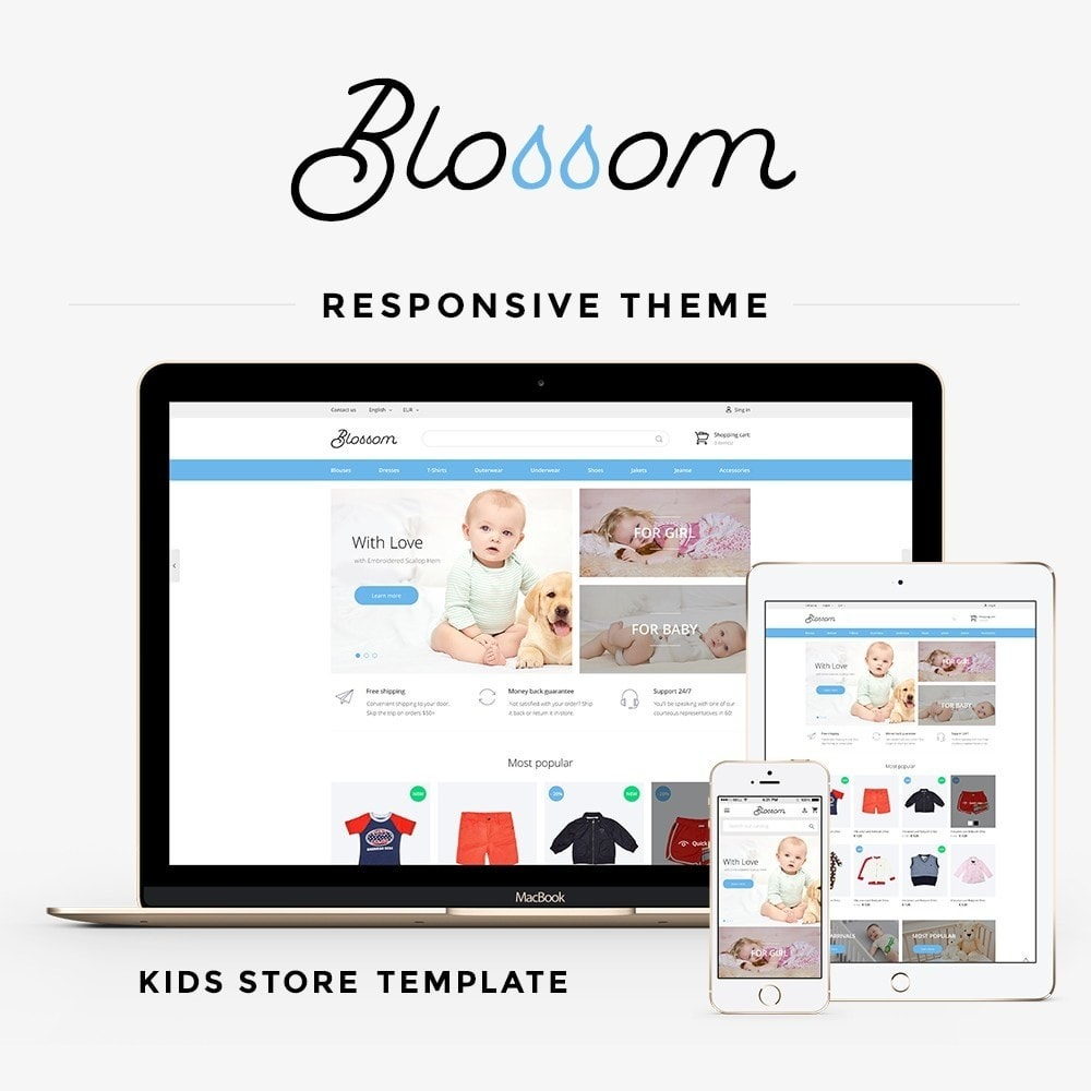theme - Kids & Toys - Blossom - Kids Clothes - 1