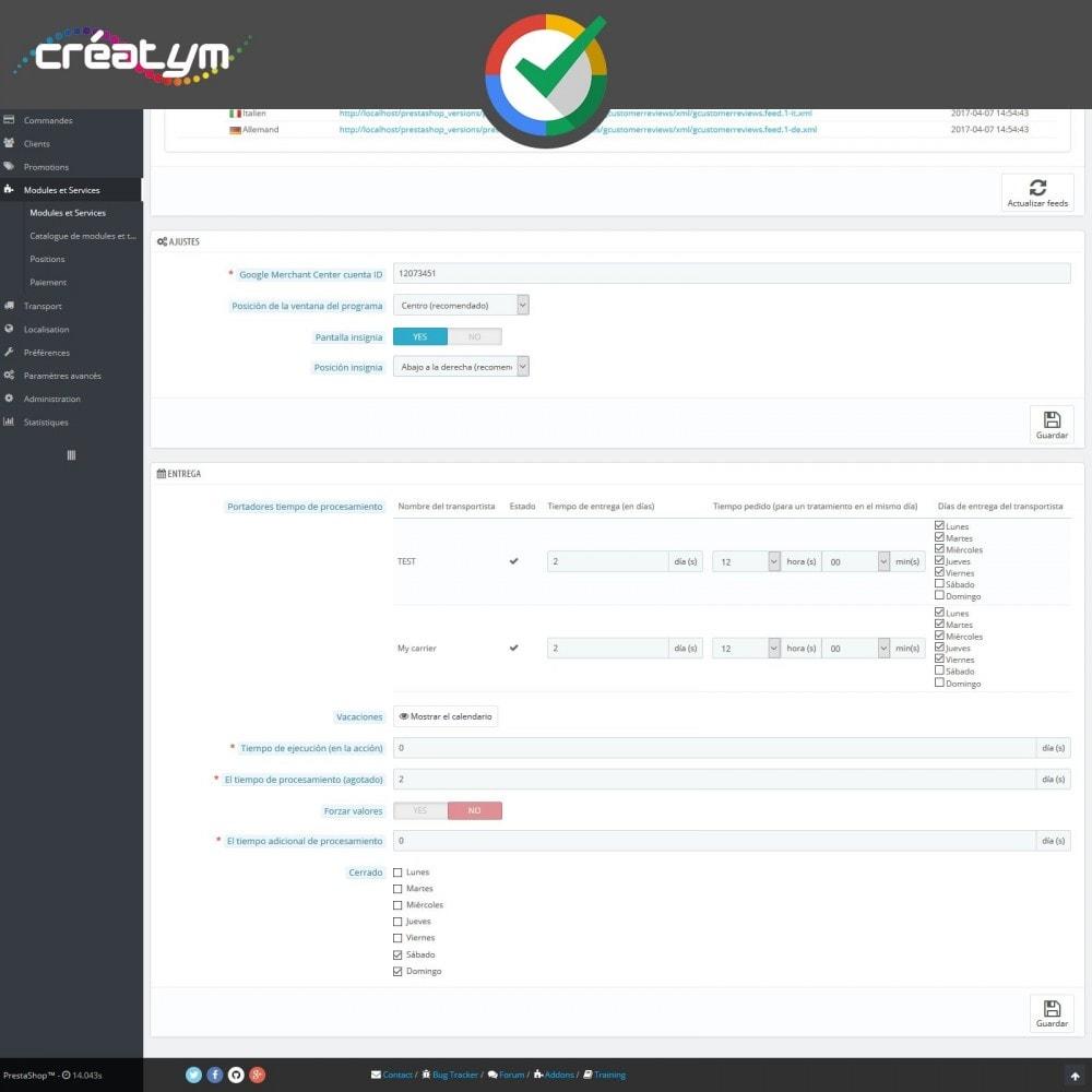 module - Comentarios de clientes - Reseñas de Clientes en Google - 4