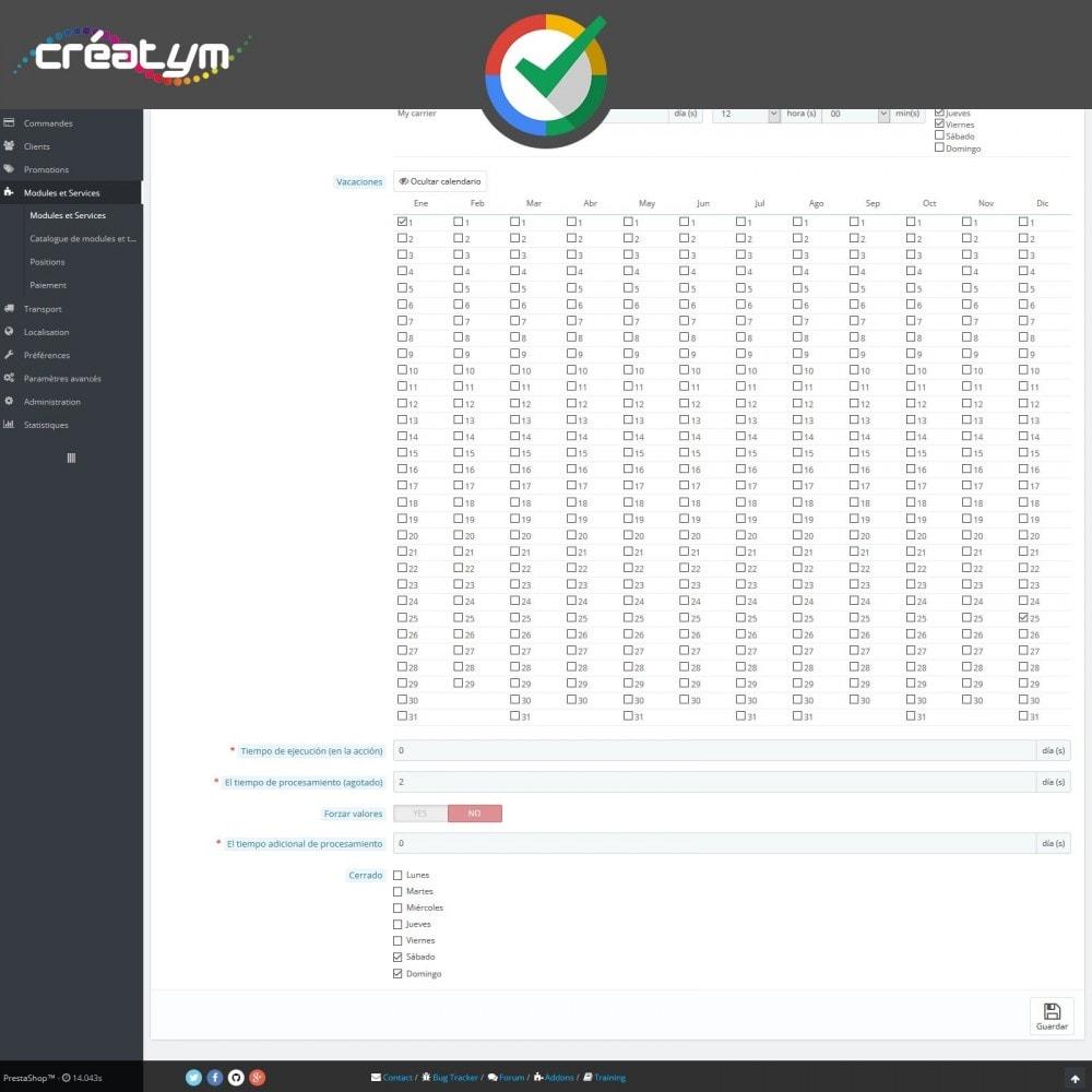 module - Comentarios de clientes - Reseñas de Clientes en Google - 5