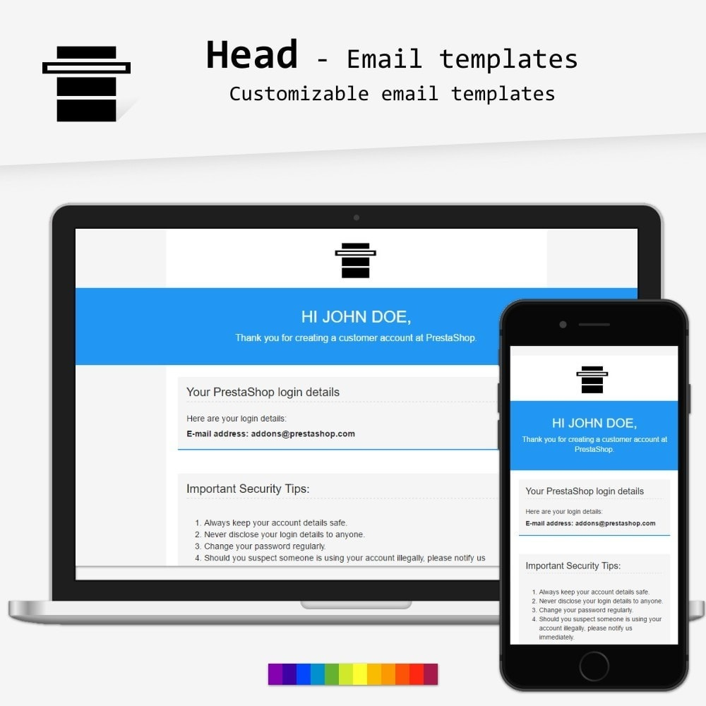 Head - Email templates