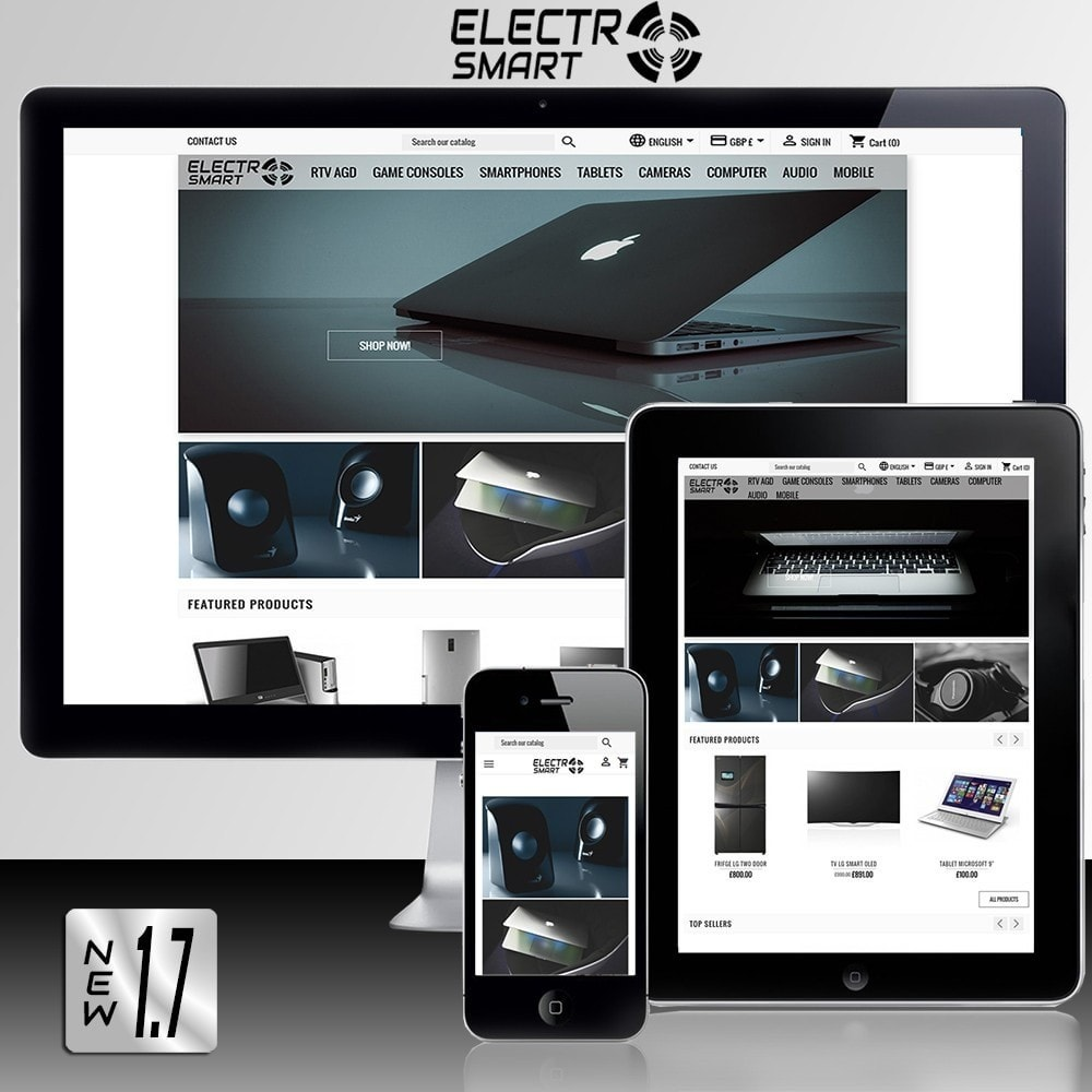 theme - Electronics & Computers - Electro Smart - 1