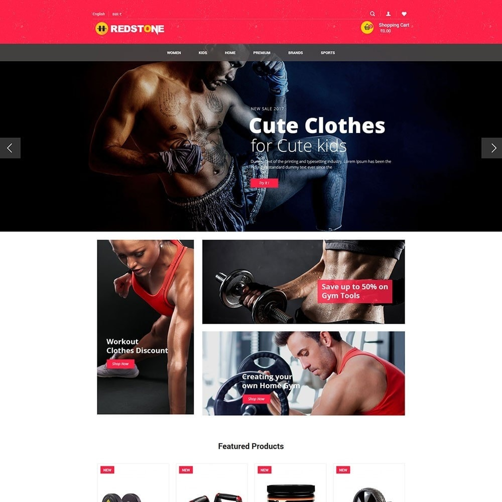 theme - Sports, Activities & Travel - Gym   Multipupose Store - 2