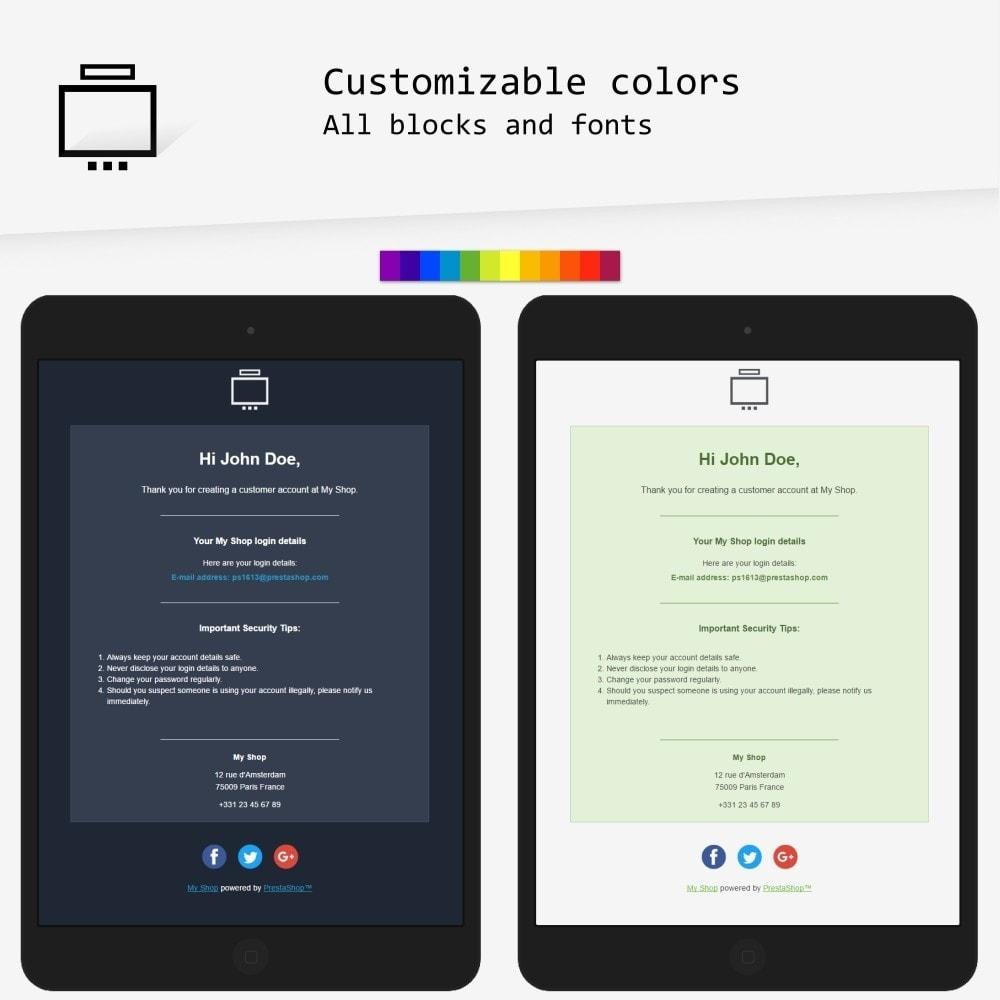 Minimalist - Email templates