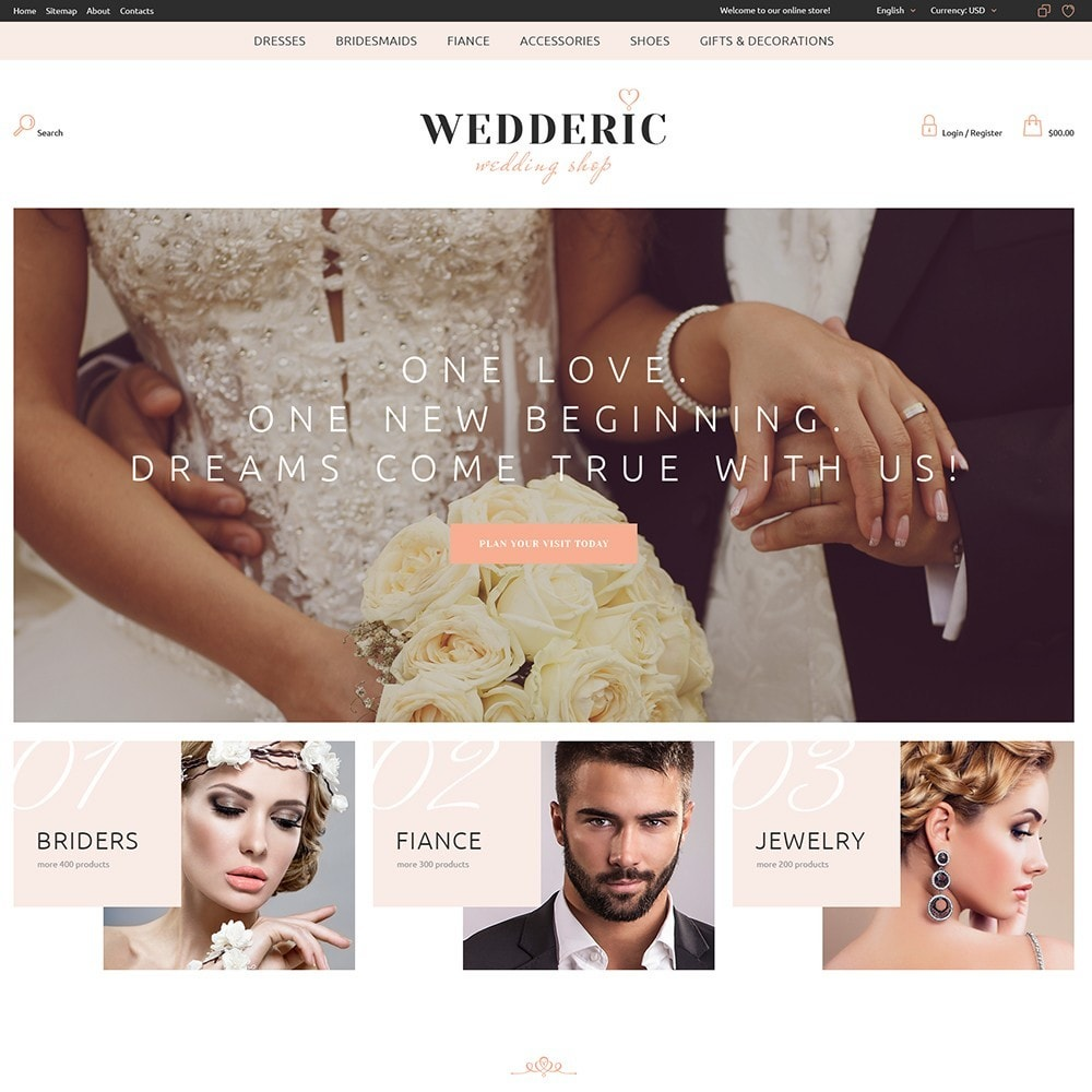 theme - Presentes, Flores & Comemorações - Wedderic - Wedding Shop - 3